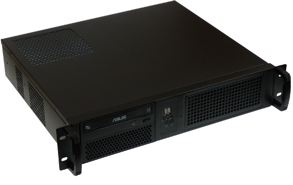 "Komputer Rack 19"" 2U, Intel (10gen.) i3/i5/i7, 8/16/32GB-DDR4, Gigabyte H470(RAID), GeForce 1050Ti LP /03E38"