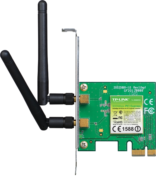 Karta PCI-E WIFI WN881ND N300 TP-LINK 2x2dBi